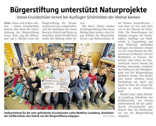 Bürgerstiftung unterstützt Naturprojekte