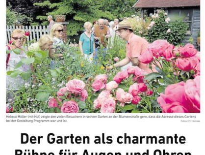 Der Garten als charmante Bühne für Augen und Ohren