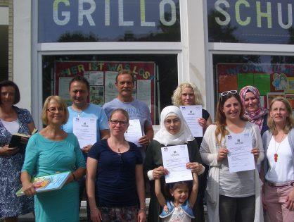 Wenn auch Eltern in der Grundschule büffeln - Bürgerstiftung füllt Rucksack Schule