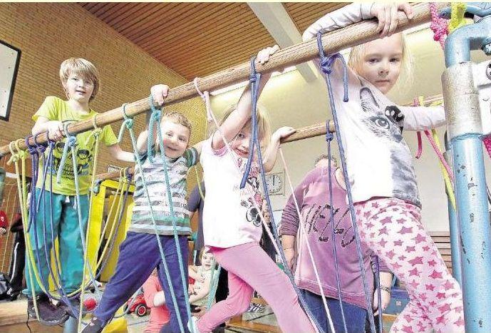Stiftung bringt mehr Bewegung in den Schulalltag